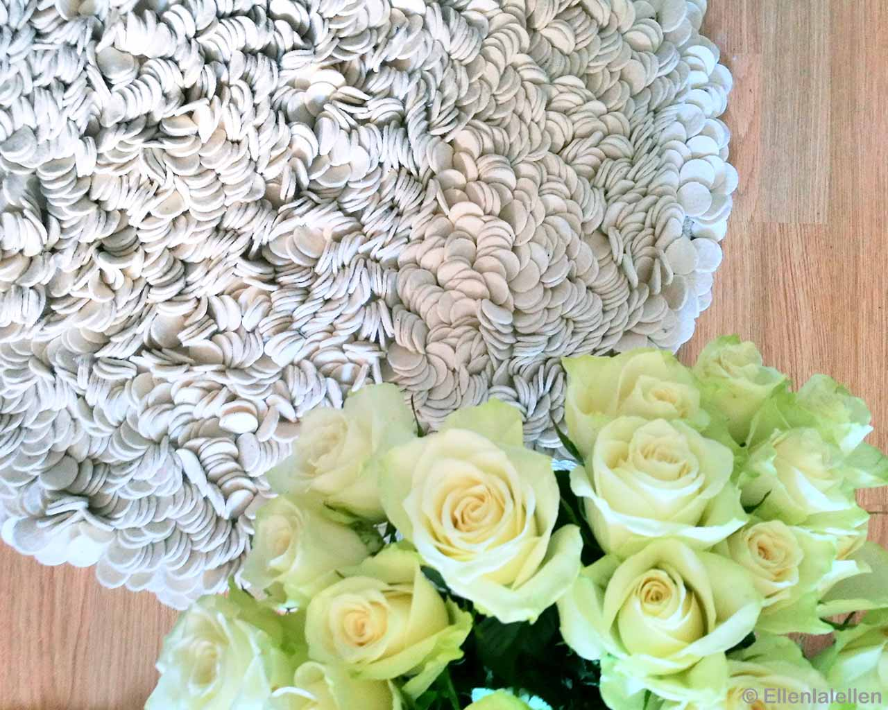 white roses asian contemporary white and peach rugs
