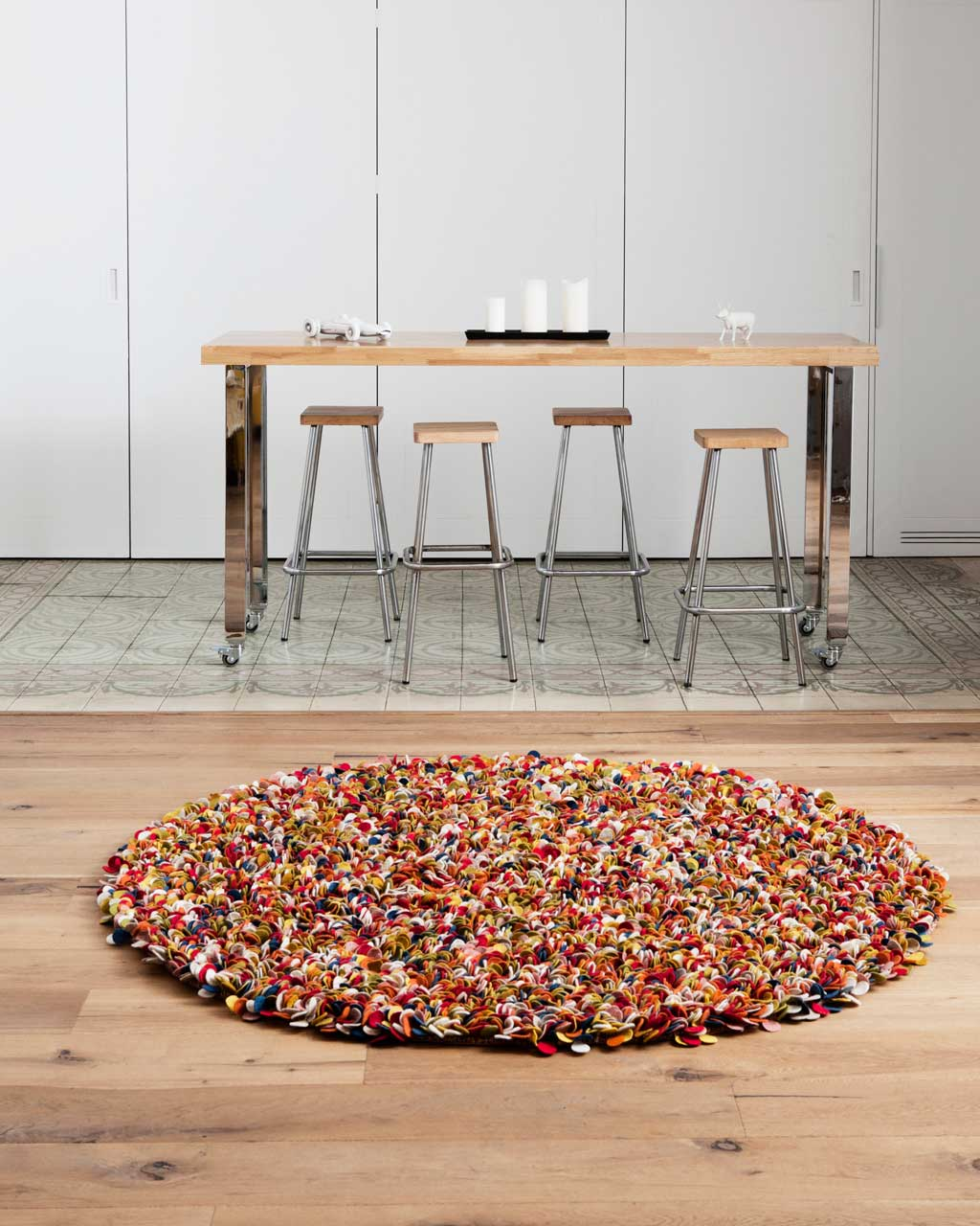 kitchen carpet colourful special deluxe oslo