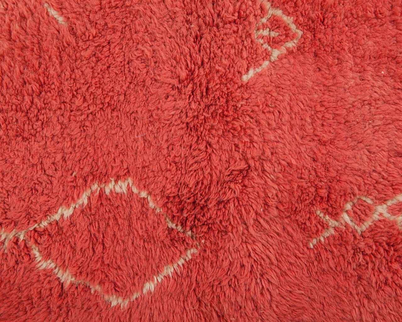 pink personalizable woolen carpets 1