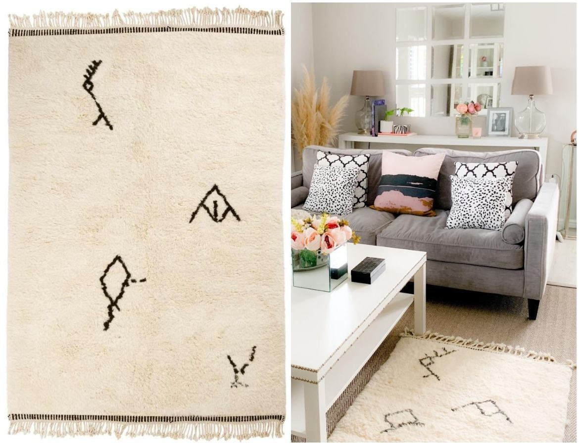 beautiful-beni-ourain-rug-with-tribal-symbols-in-living-room